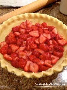 Strawberry Sour Cream Pie 1