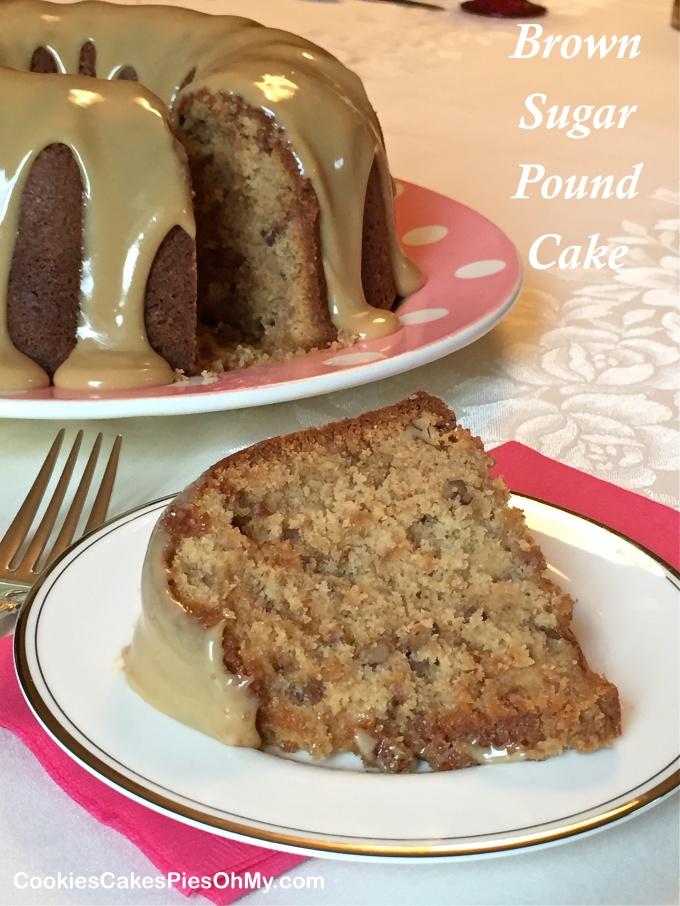 Brown Sugar Pound Cake 2