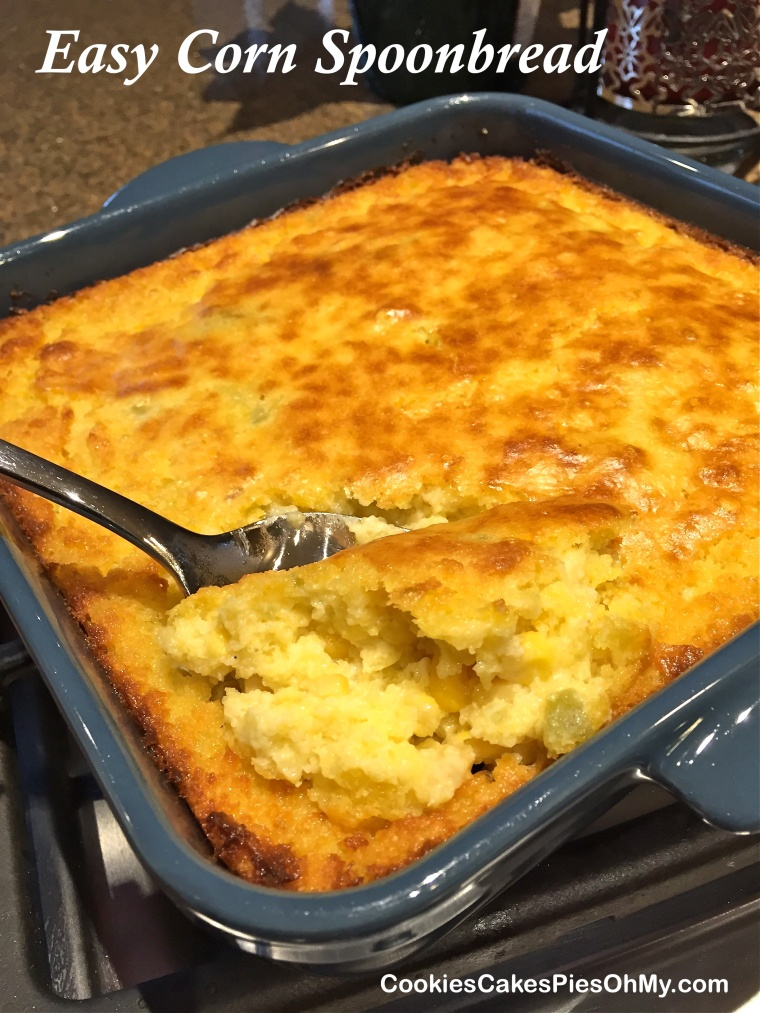 Easy Corn Spoonbread