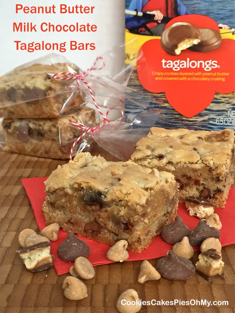 Peanut Butter Milk Chocolate Tagalong Bars