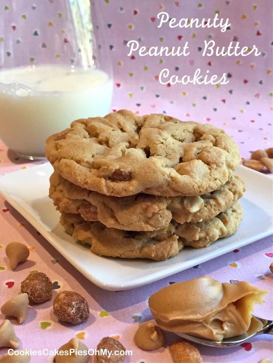 Peanuty Peanut Butter Cookies