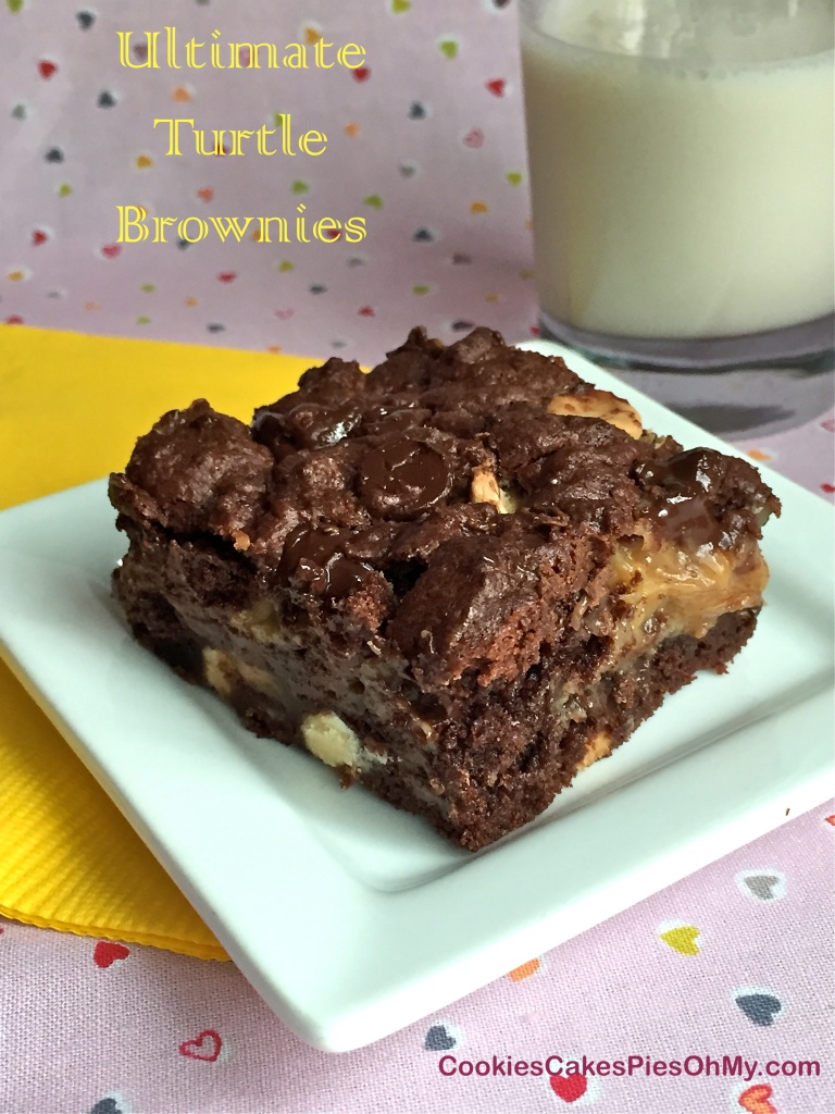 Ultimate Turtle Brownies