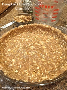 Pumpkin Oatmeal Cookie Crust Pie 1