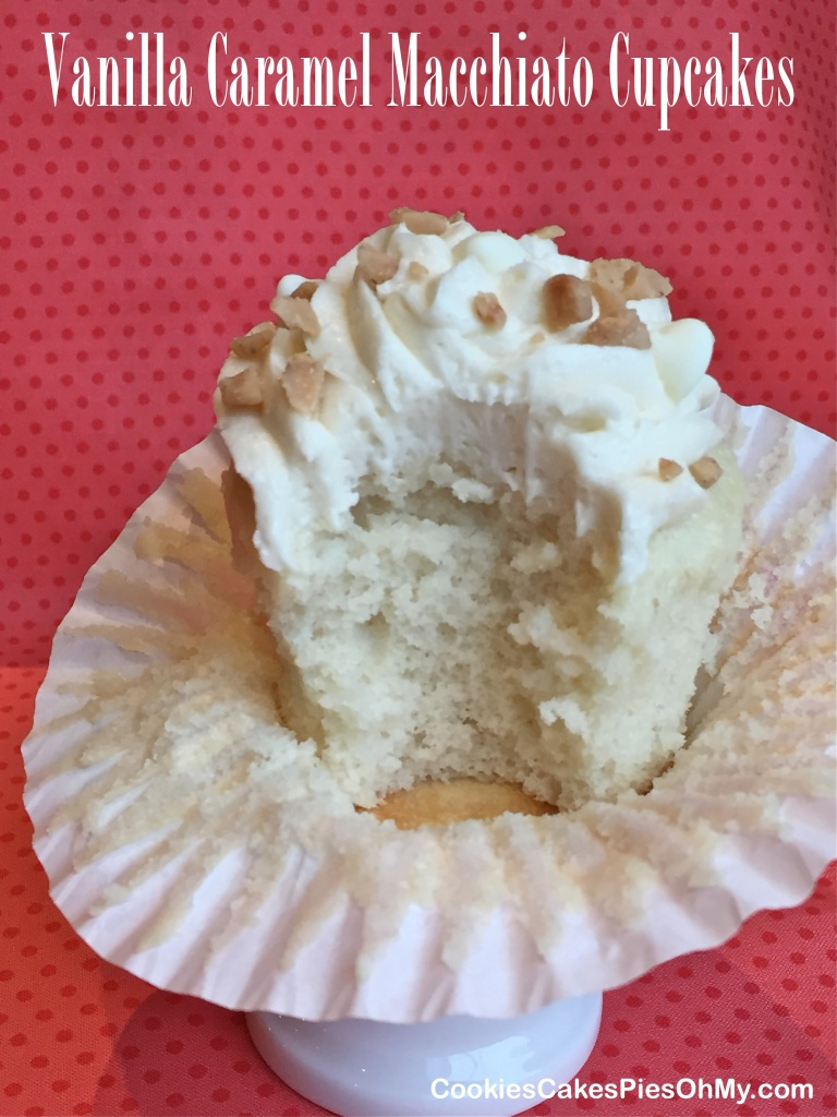 Vanilla Caramel Macchiato Cupcakes 1