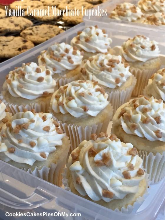 Vanilla Caramel Macchiato Cupcakes 2