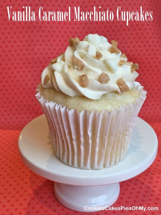 Vanilla Caramel Macchiato Cupcakes