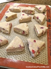 Cranberry & White Chocolate Scones 2