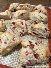 Cranberry & White Chocolate Scones 3