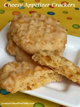 Cheesy Appetizer Crackers 2