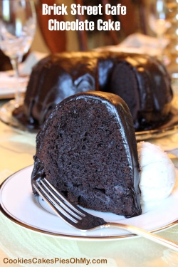 Brick Street Cafe Chocolate Cake 2