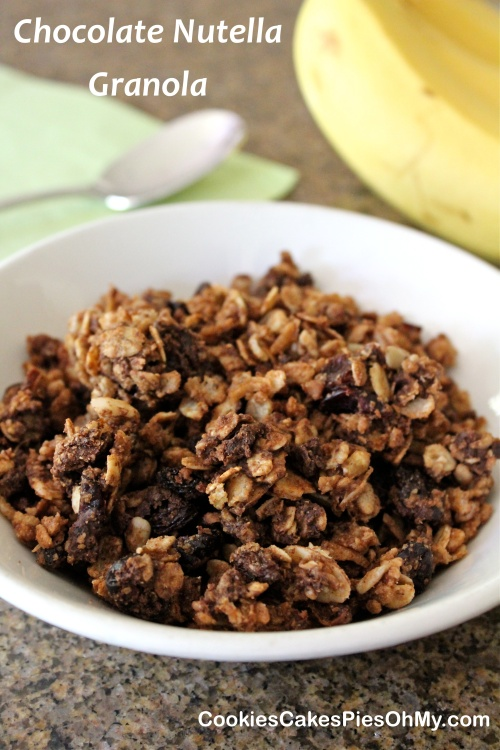 Chocolate Nutella Granola