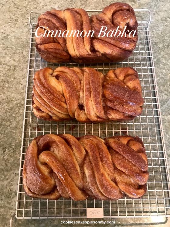 Cinnamon Babka!