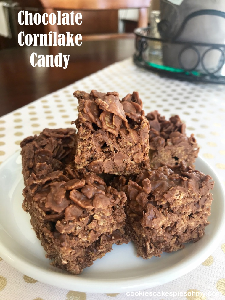 Chocolate Cornflake Candy