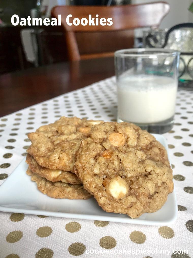 Oatmeal Cookies KAF