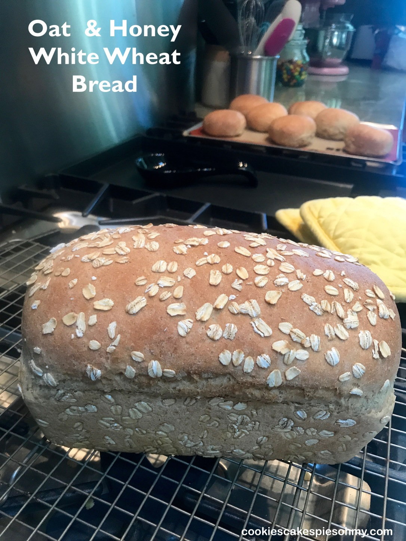 Oat & Honey White Wheat Bread